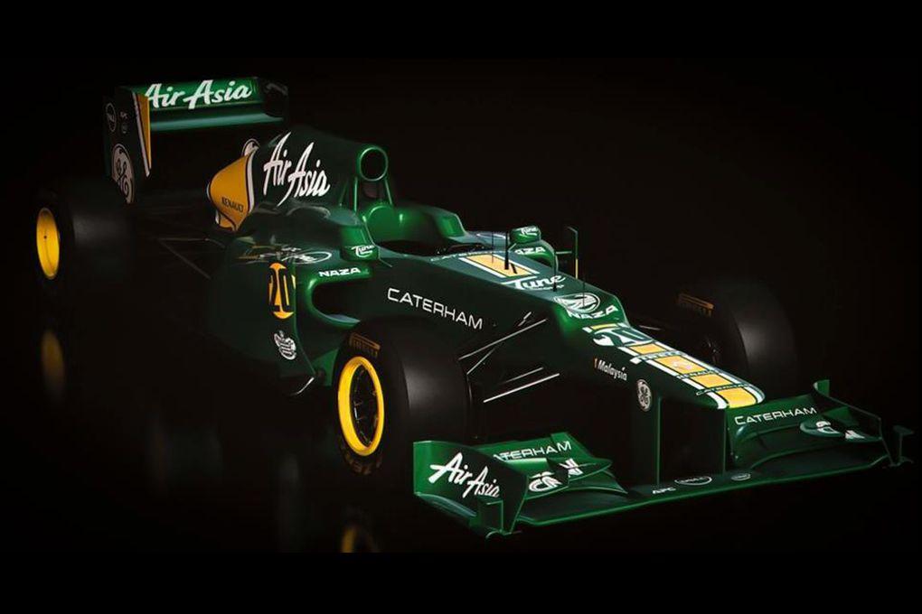 Les nouvelles monoplaces de Formule 1 qui s'affronteront tout au long de la saison 2012.