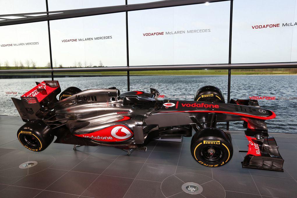 Les nouvelles monoplaces de Formule 1 de cette saison 2013