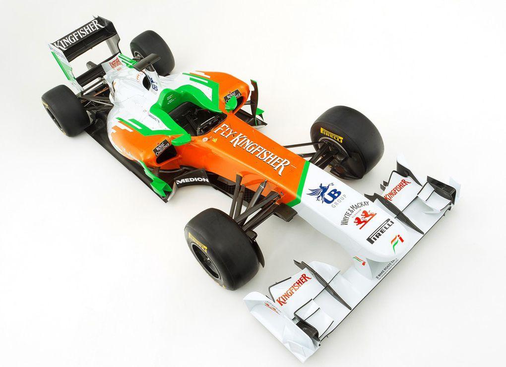 Les écuries dévoilent leur nouvelle monoplace pour la saison 2011 du championnat du monde de Formule 1.