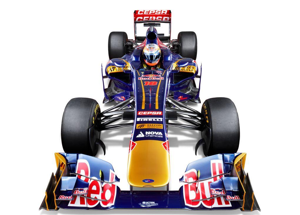 Cette nouvele Toro Rosso disputera la saison 2013 de F1 avec, entre autres, Jean-Eric Vergne.