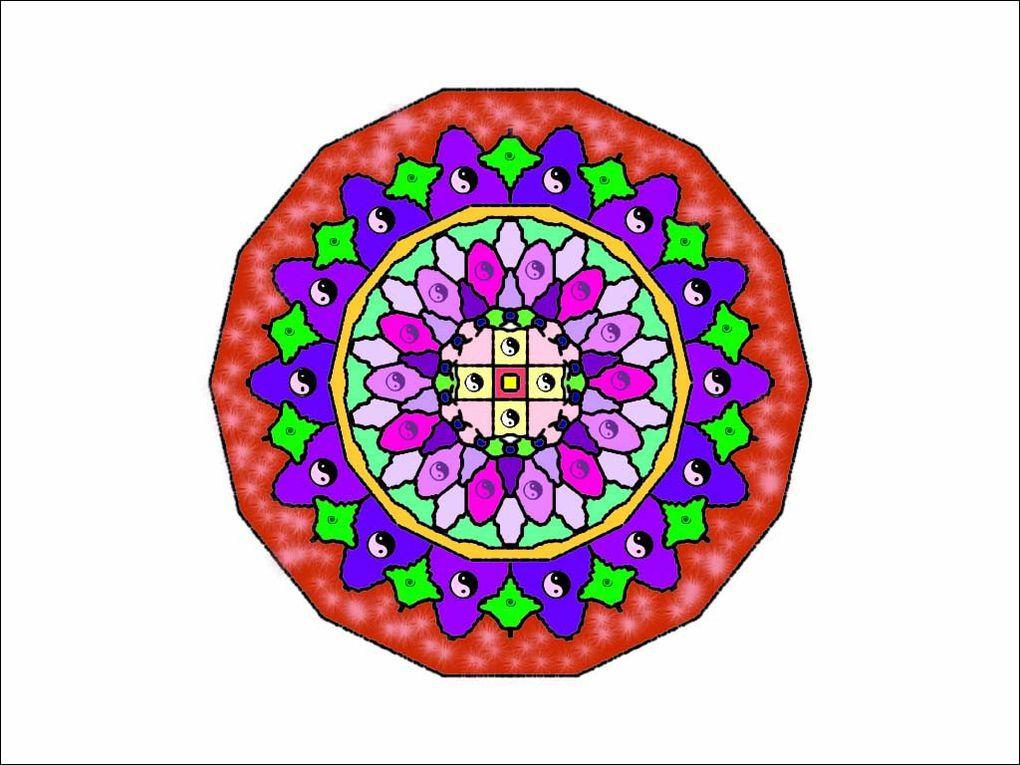 Nos yeux peuvent nous amener à un état de limpide sérénité. L'utilisation d'un mandala est dans la tradition bouddhiste, l'un des meilleurs moyens d'y parvenir. Consacrez environ 10 minutes par jour en fixant votre regard sur un mandala.