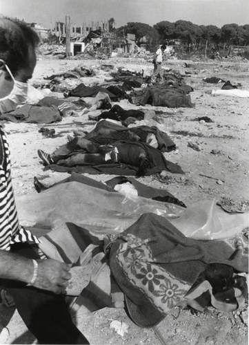 Le massacre de Sabra et Shatila. Merci Sharon.