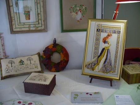 <p>Photos de l'exposition des Rameaux 2007.</p><p>Avec la participation des sections manuelles de l'Universit&eacute&#x3B; Populaire du Neubourg : Broderie, Patchwork et Art Floral.</p>
