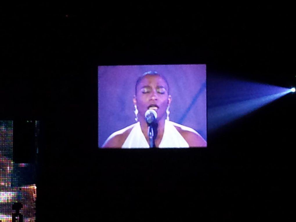 """Le concert """"Gospel pour 100 voix"""" que j'ai eu le plaisir de voir le vendredi 6 mars 2009 à Paris Bercy ! Une sensation extraordinaire!"""