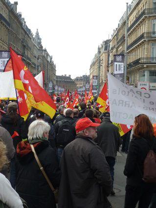 La manif à Lille