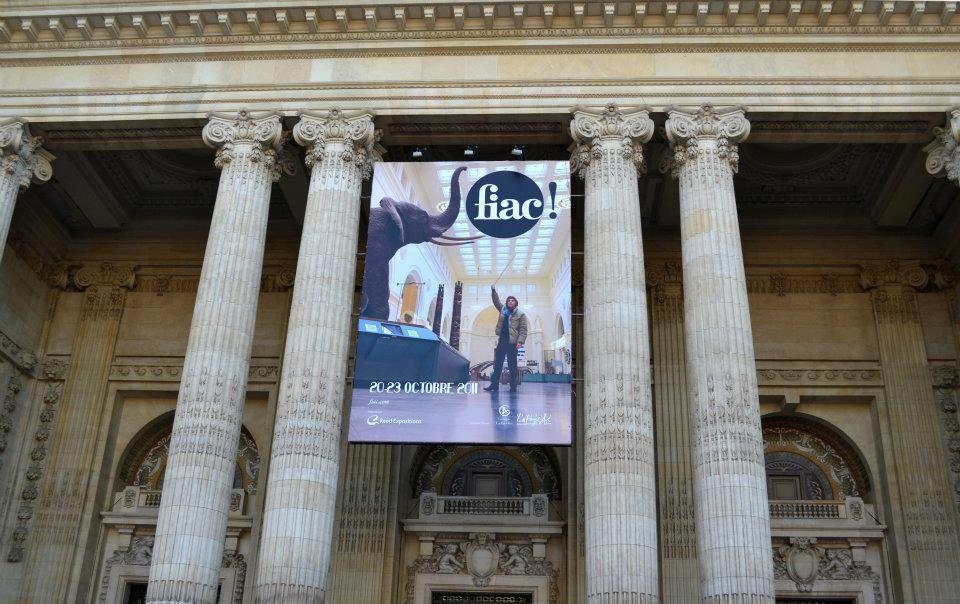 FIAC 2011 Foire Internationale d'Art contemporain du 20 au 23 octobre à Paris : au grand Palais, dans le Jardin des Tuileries, au Jardin des plantes.