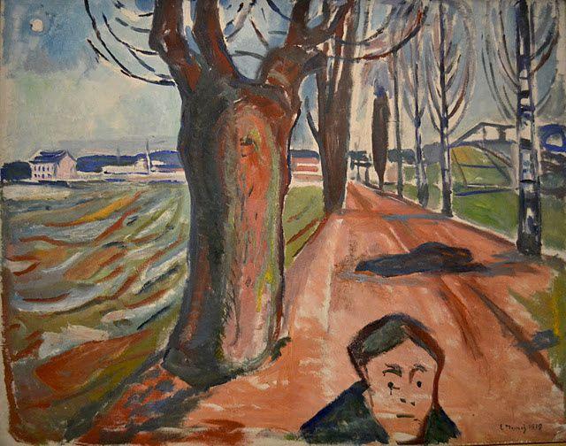 """Exposition Edvard Munch, """"L'oeil moderne"""" au Centre Pompidou à Parisdu 21 septembre 2011 au 9 janvier 2012"""