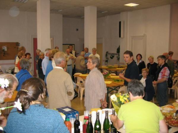 <p>Réception en 2005 de nos amis de Herford </p>