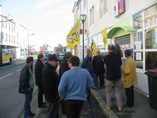 Album - Manifestation face à l'ANPE Brest Jaurès