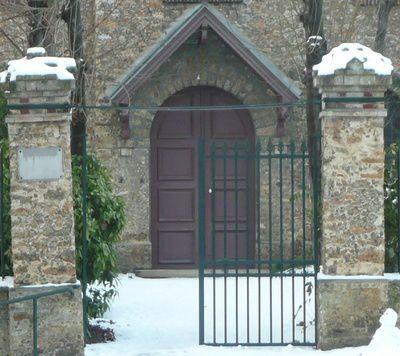 Beaucoup de neige au Raincy en cette année 2009, en janvier déjà et dans cet album, en décembre.