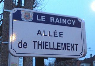 Des allées, des avenues, des villas, ...mais pas de rues.