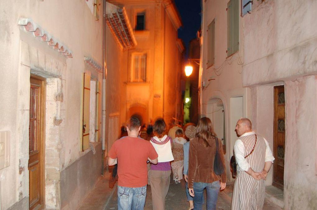 Les troubadours du TRAC à Bedoin, Beaumes et Venasque durant l'été 2008.