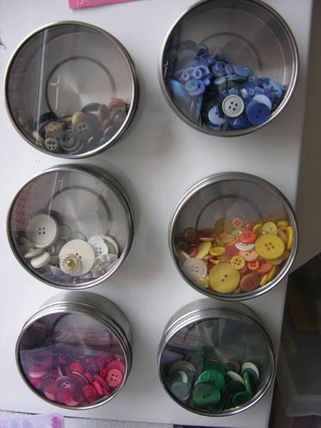 Mes objets de scrap sont rang&eacute&#x3B;s dans ma scraproom