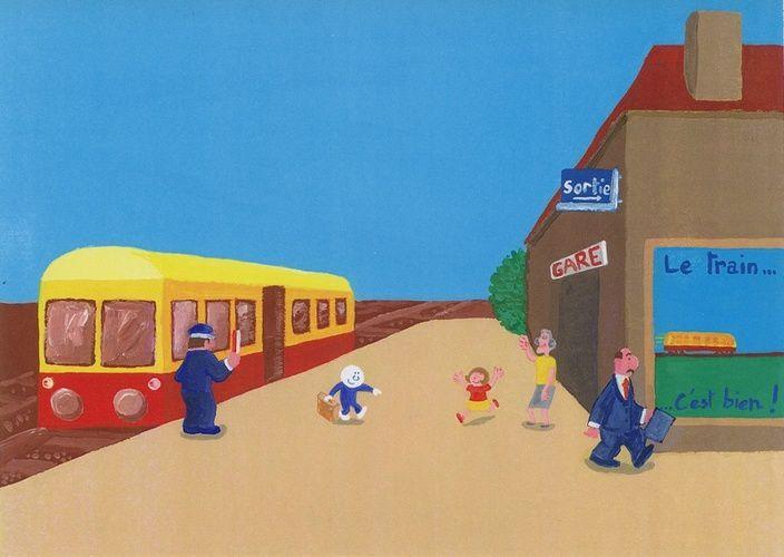 Un dessin à l'encre de Chine et aux crayons de couleurs...<br />3 dessins réalisés à l'acrylique pour le concours Hasselt 2004 et un dessin réalisé avec Expression 3...<br />