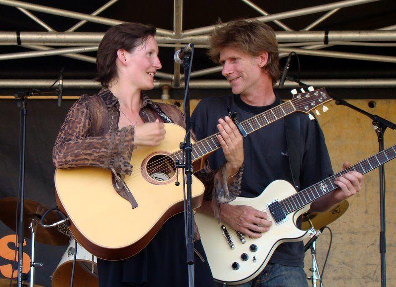 Concert d'Alchimie au festival les Manchoiseries juillet 2010