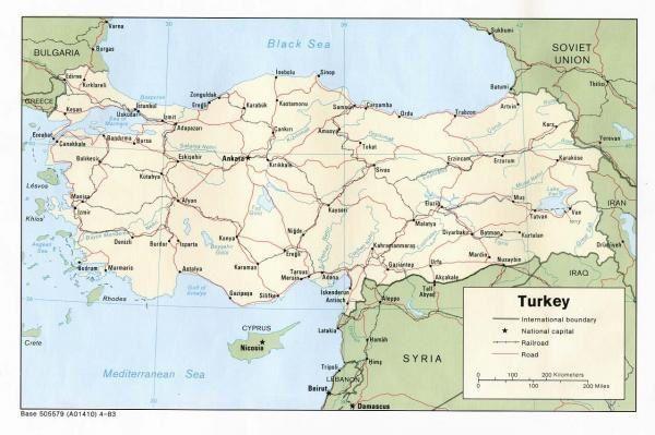 Diverses cartes de pays relativement précises.