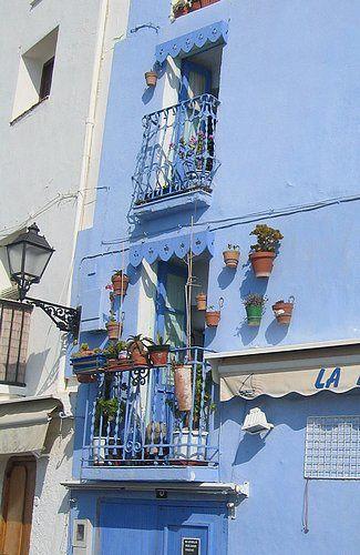 le village de Peniscola, en Espagne