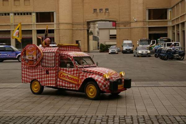 Caravane du Tour de France à Barcelone