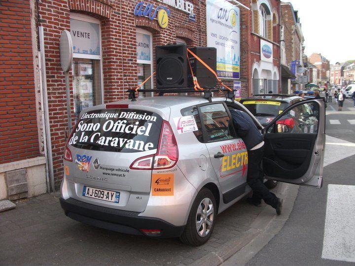 Caravane Publicitaire des 4 jours de Dunkerque 2011