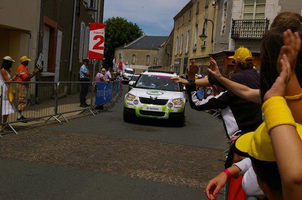 La Caravane Publicitaire du Tour de France 2011 aux Essarts
