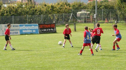 Match des Juniors E2 du 8 septembre 2007