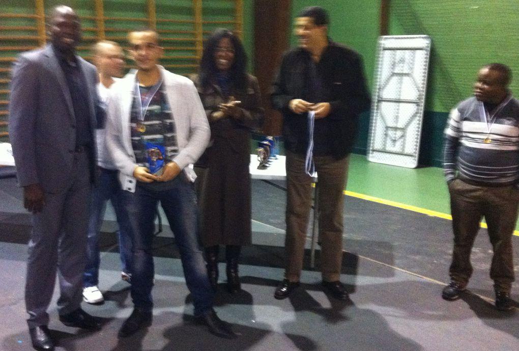 La fête du Bussy basket club le samedi 22 Décembre 2012 au Gymnase Jazy