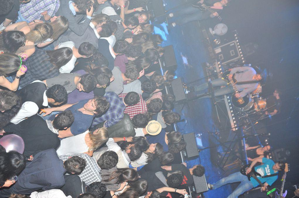 Photos du concert de l'ISO LYON au Ninkasi kao le 14 avril 2011.