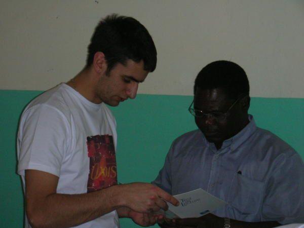 <p>Op&eacute&#x3B;ration humanitaire men&eacute&#x3B;e des &eacute&#x3B;tudiants de l'ISO Nantes au Burkina Faso.</p>