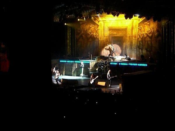 Première partie des photos du concert d'Iron Maiden le 1er juillet 2008.
