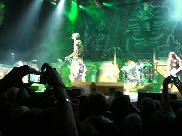 Fin des photos du second soir d'Iron Maiden à Bercy.