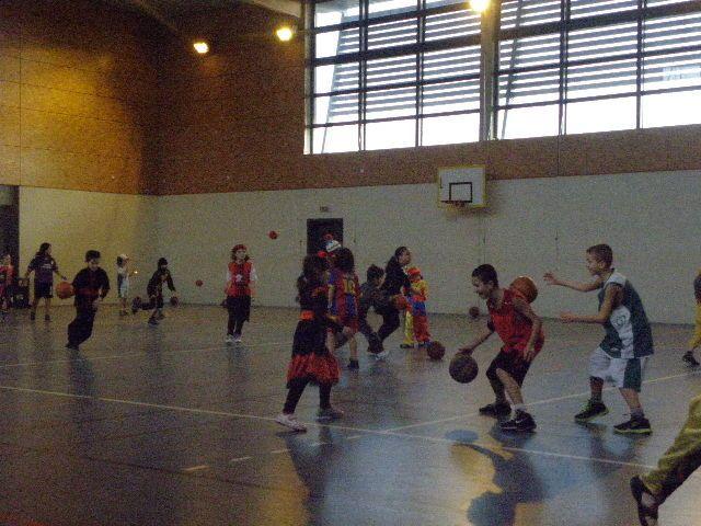 Le Carnaval du Mini-Basket, pendant les vacances de février