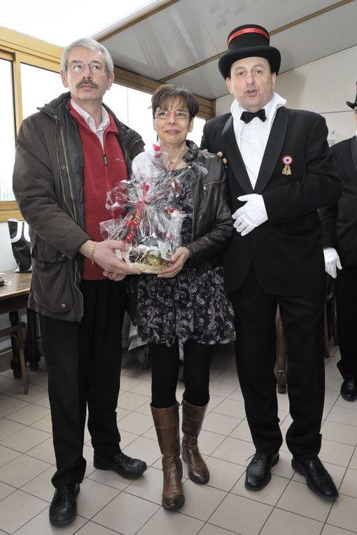 Les Conscrits du BCVB reçus et honorés au Foyer du Club, en présence d'une assistance-record cette année !