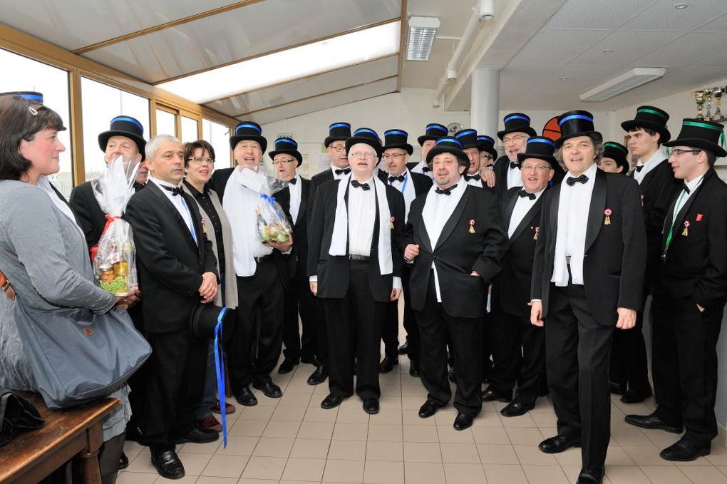 Les Conscrits 2012 honorés le 29 janvier dernier au Foyer du Club, puis 2 matches en images : Mnimes Filles et Garçons à St-Ex'
