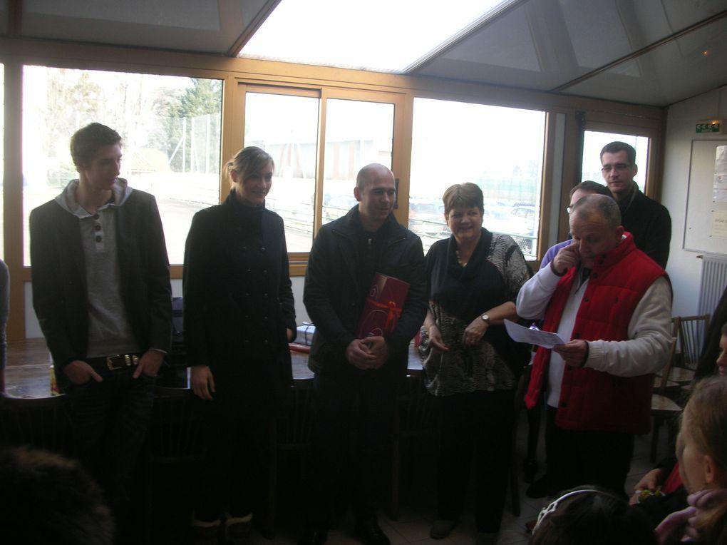 Les Conscrits 2013 reçus et honorés au Foyer du Club le 26/01/2013