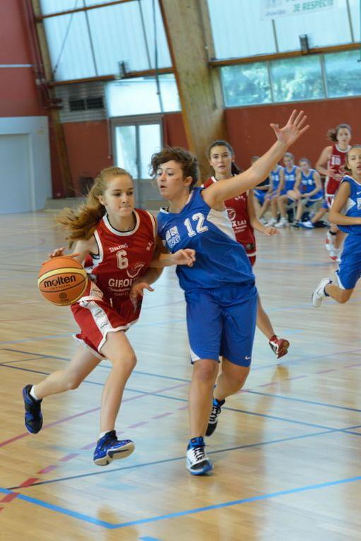 Les Cadettes (U17) du BCVB débutent les Brassages de D1 par une courte défaite devant Beaujolais Basket