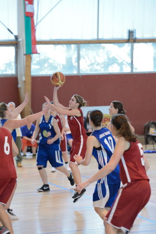 Victoire des Seniors DF2 au Palais des Sports contre l'ES Genas-Azieu