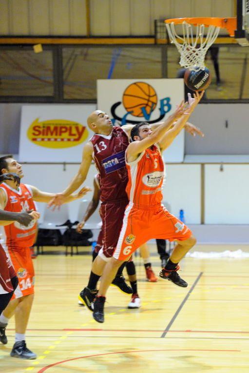 05/10/2013 : BCVB - UCAB Annecy au Palais des Sports (NM3)