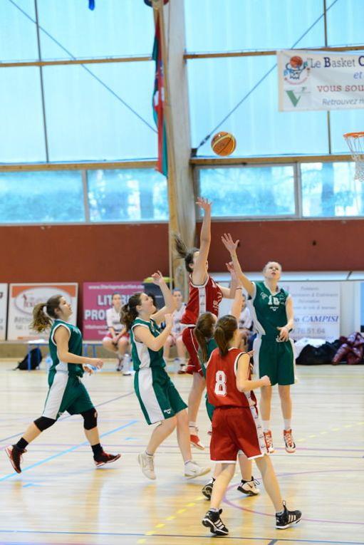 Réception de Neuville Basket au Garet pour les U17F