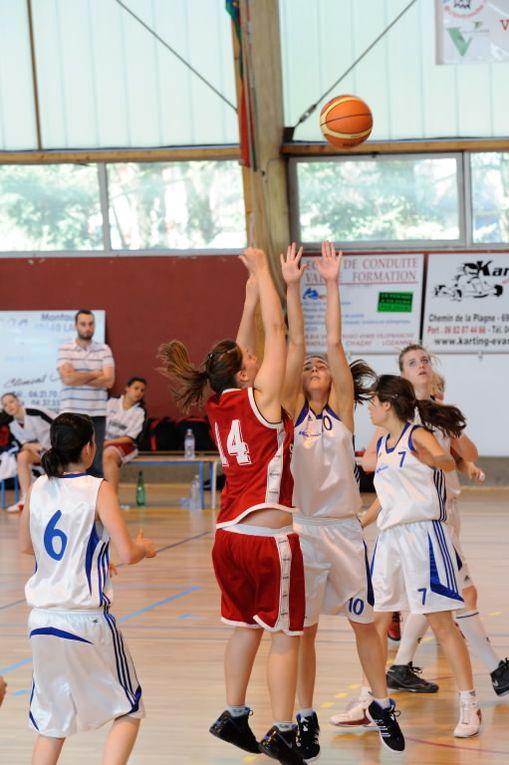 Les Cadettes face à l'AL Gerland-Mouche, et les Seniors R2 contre l'AL Caluire au Palais des Sports le 10/03/2012