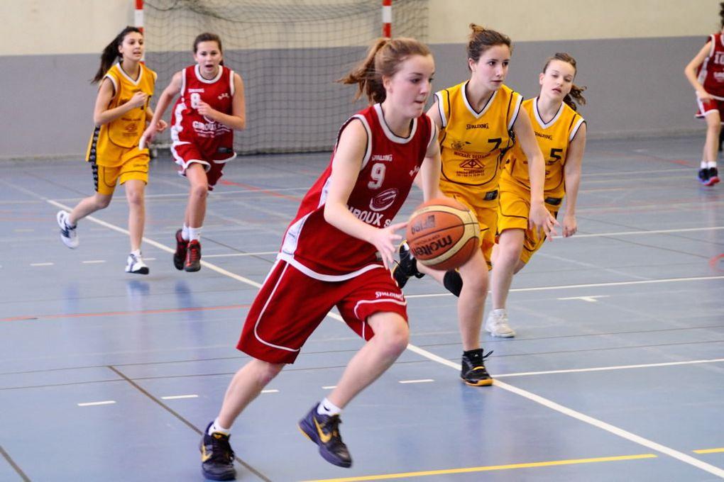 3 équipes du BCVB le 02/02/2014 :- les U09M2 contre Sevenne Basket- les U17M contre Caluire- les U17F contre Bessenay