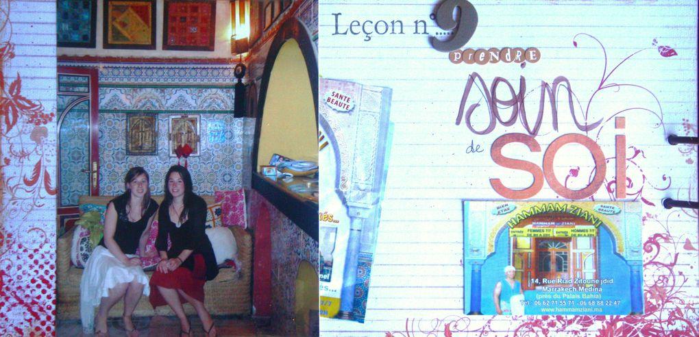 Compilation d'une semaine intense entre soeurs à Marrakesh, en avril 2010