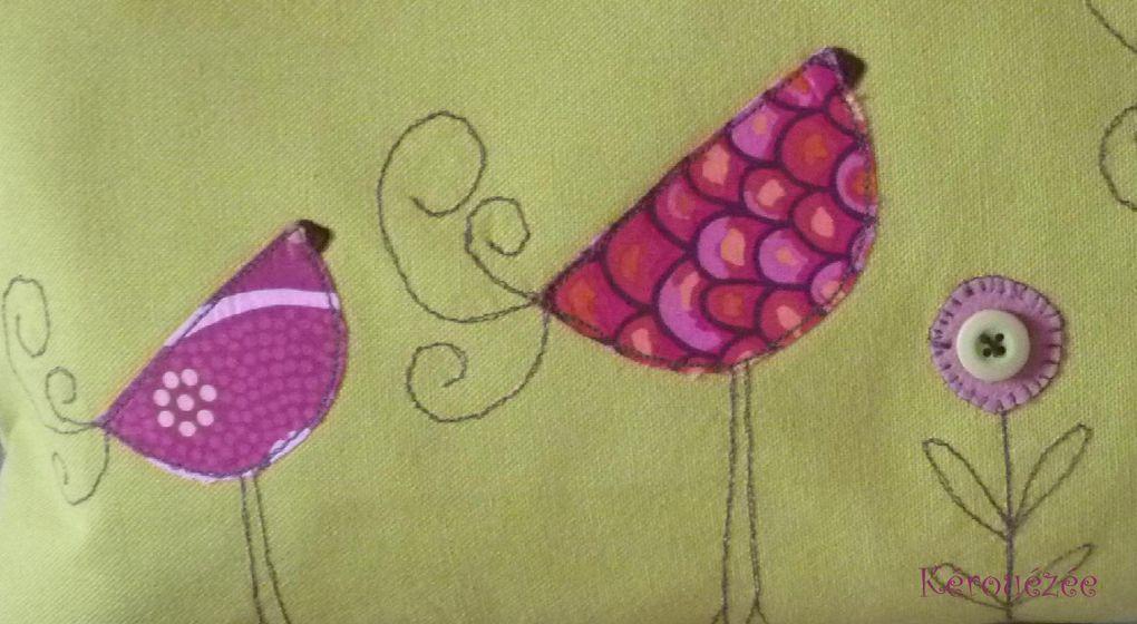 Notre défi pour l'année 2013 : réaliser tous les mois un ouvrage sur le thème de l'oiseau