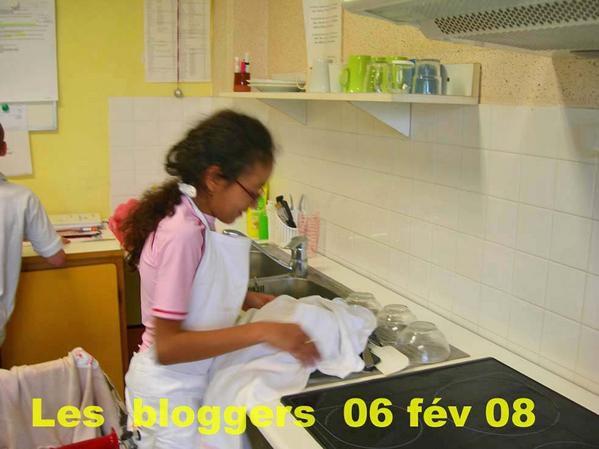 Toutes les photos de l'atelier cuisine au cours de l'année scolaire 2007/2008