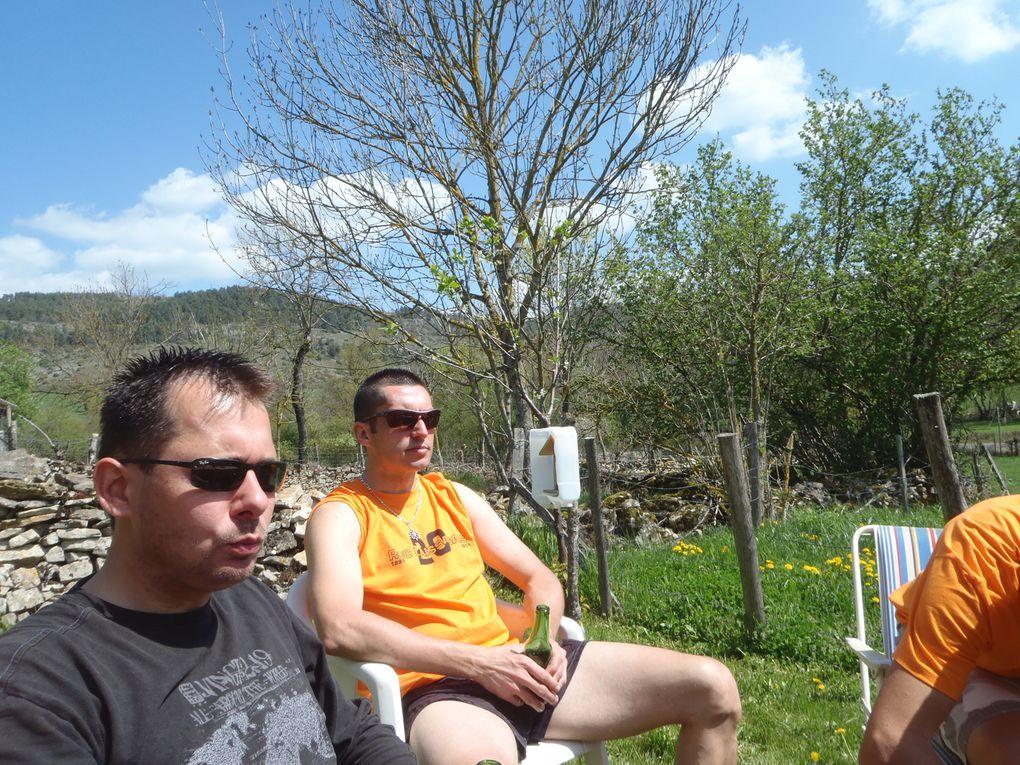 Photos du Roc Laissagais 2011, WE Club avec de la bonne humeur pendant 48h (merci Nico pour l'organisation)