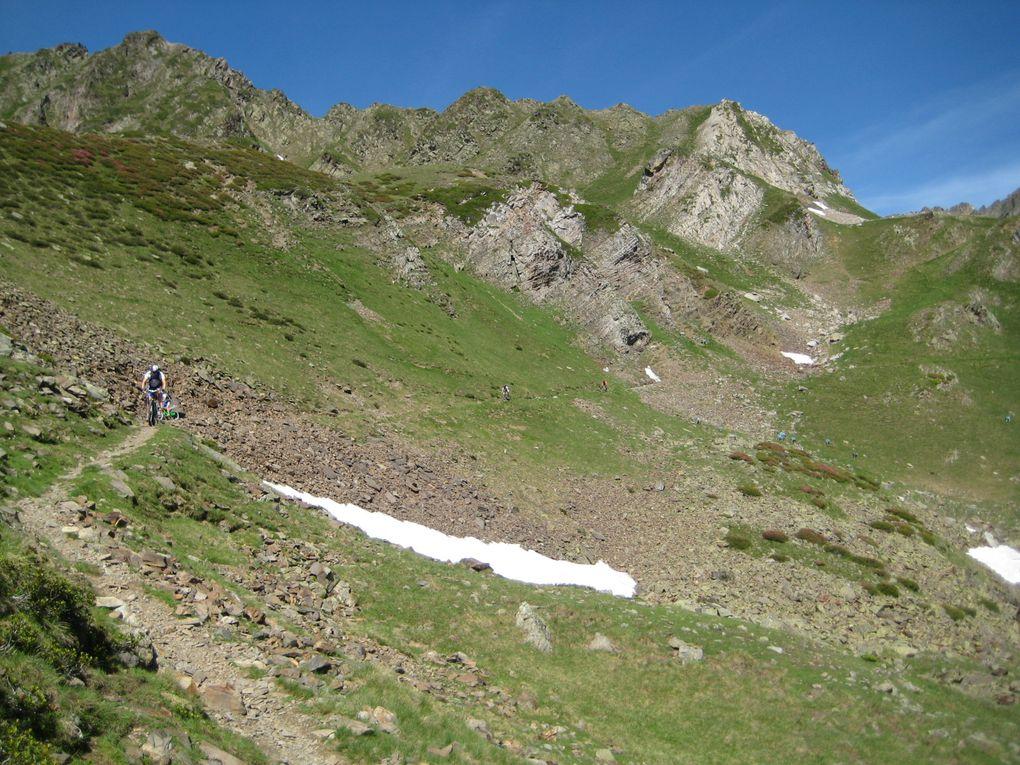 Sortie Club dans le secteur des Cols du Tourmalet, Aspin, Sencours, Beyrêde et Pic du Midi de Bigorre, le 11 juillet 2009.