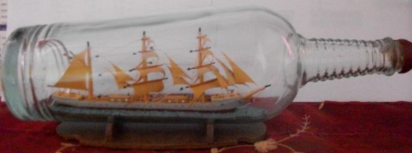 Ces bateaux en bouteilles datent presque tous du d&eacute&#x3B;but du 20&egrave&#x3B;me si&egrave&#x3B;cle