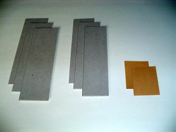 Les photos de la première partie de la fabrication ...