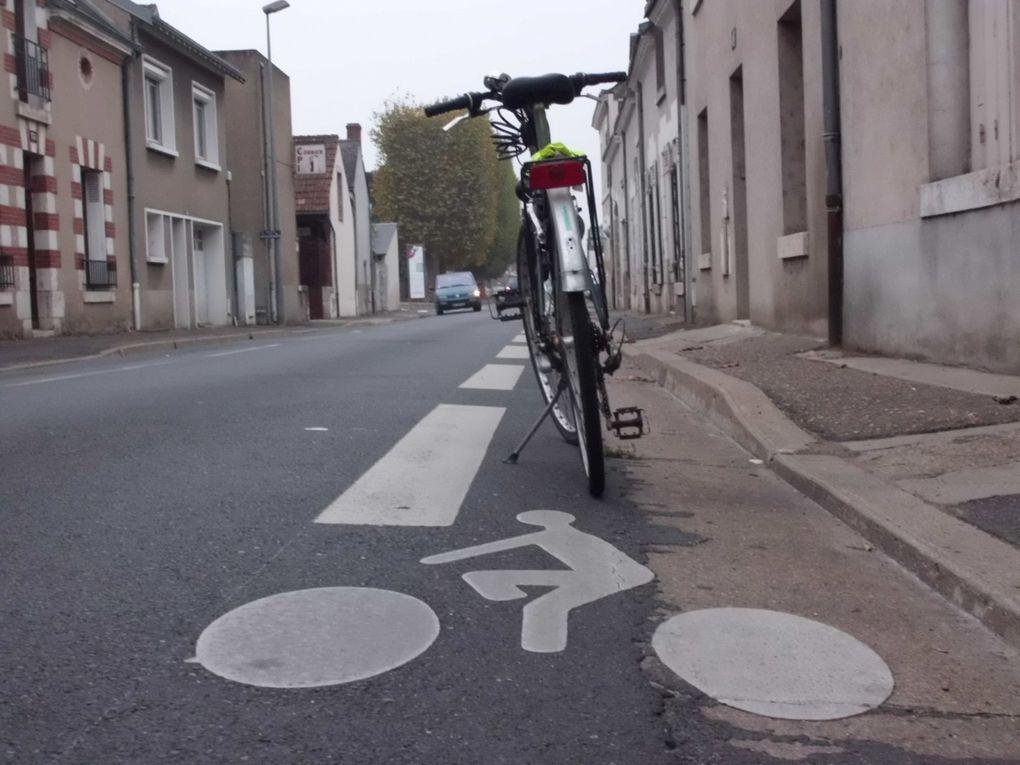 Aménagements cyclables à Blois