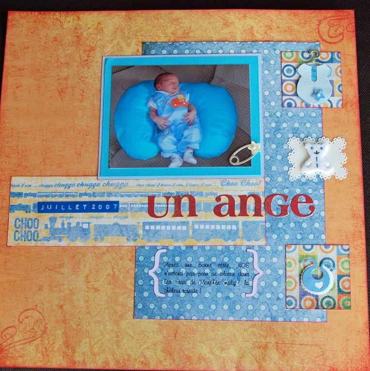 Pages d'un album en 30X30