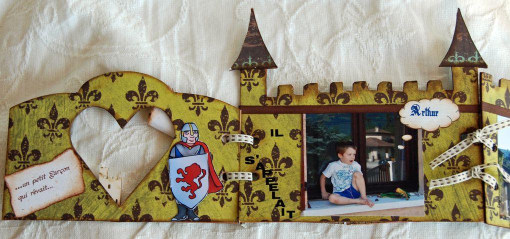 Album chateau fort interactif
